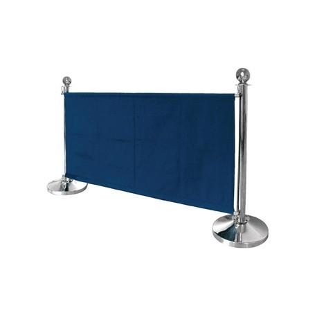 Bolero Dark Blue Canvas Barrier