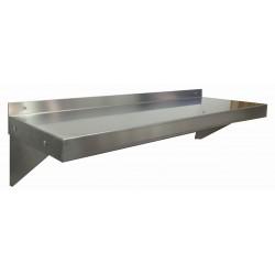 "Nella Stainless Steel Wall Shelf 14"" x 24"""