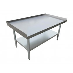 "Nella Stainless Steel Equipment Stand 24"" x 24"""