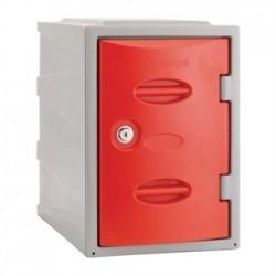 Extreme Plastic Single Door Camlock Locker Red 450mm