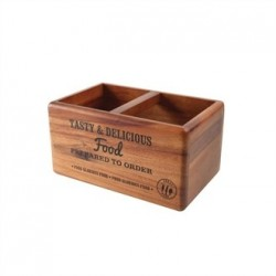 T&G Food Glorious Food Table Tidy with Chalkboard