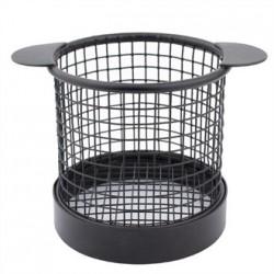 Olympia Mini Fryer Basket Black with Ears