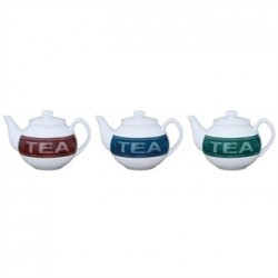 Olympia Porcelain Teapot Set Printed 15oz