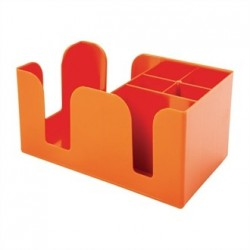 Beaumont Bar Caddy Orange