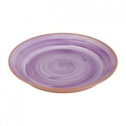 APS La Vida Melamine Plate Round Purple 405mm