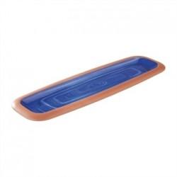 APS La Vida Melamine Tray Blue GN 2/4 530 x 162mm