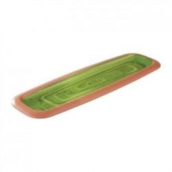 APS La Vida Melamine Tray Green GN 2/4 530 x 162mm