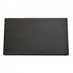 APS 1/3GN Slate Melamine Platter