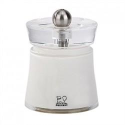 Peugeot Bali Acrylic Salt Mill White 3in