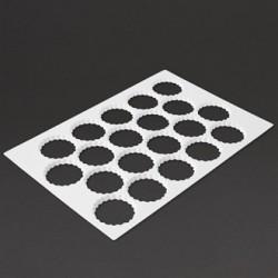 Schneider Serrated Cutting Sheet Round 20 Holes 90mm