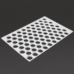 Schneider Serrated Cutting Sheet Round 72 Holes 45mm