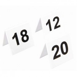 Plastic Table Numbers 11-20
