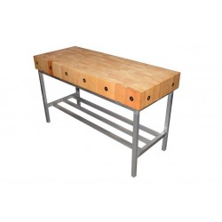 Nella Butchers Block Stand 2ft