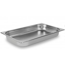 Nella 1/1 H100 Gastronorm Pan Stainless Steel