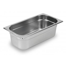 Nella 1/4 H100 Gastronorm Pan Stainless Steel