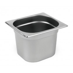 Nella 1/6 H100 Gastronorm Pan Stainless Steel