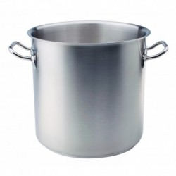 Agnelli Stockpot, 2 Handles Stainless Steel 18/10 . 45 cm