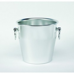 Agnelli Champagne Bucket, Heavy Alu Anodized, Smooth In Colour Silver cm