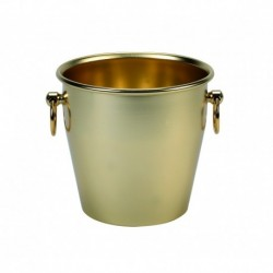 Agnelli Champagne Bucket, Heavy Alu Anodized, Smooth In Colour Gold cm