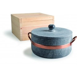 Agnelli Olar Saucepot 2 Handles  24cm
