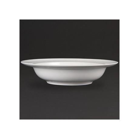 Olympia Whiteware Wide Rim Bowls 384mm