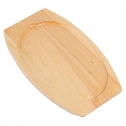 Olympia Light Wooden Base for Sizzle Platter