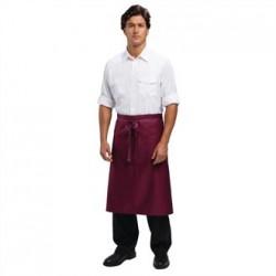 Uniform Works Regular Bistro Apron Burgundy