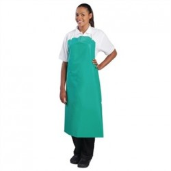 Whites Heavy Duty Waterproof Bib Apron Green