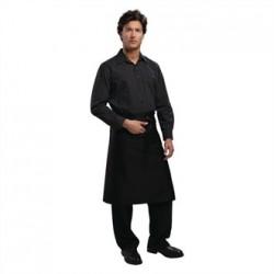 Uniform Works Regular Bistro Apron Black