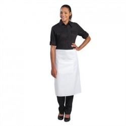 Uniform Works Regular Bistro Apron White