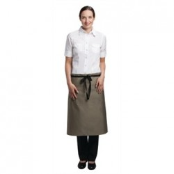Uniform Works Regular Bistro Apron Olive