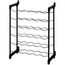 Wine Rack Metal 30 Bottle