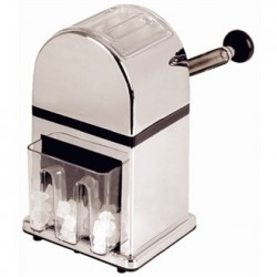 Olympia Manual Ice Crusher Chrome Effect