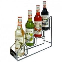 Monin Syrup POS 4 Bottle Rack