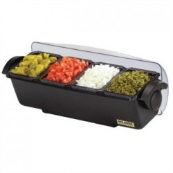 San Jamar Condiment Dispenser 4 Tray