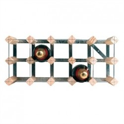 Wine Rack Wooden 15 Bottle