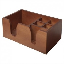 Beaumont Solid Wood Bar Caddy