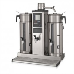 Bravilor B5 HW Bulk Coffee Brewer with 2x5Ltr Coffee Urns and Hot Water Tap Single Phase