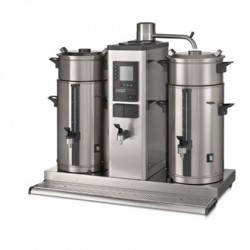 Bravilor B10 HW Bulk Coffee Brewer with 2x10Ltr Coffee Urns and Hot Water Tap 3 Phase