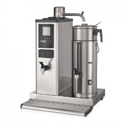 Bravilor B20 HWR Bulk Coffee Brewer with 20Ltr Coffee Urn and Hot Water Tap 3 Phase