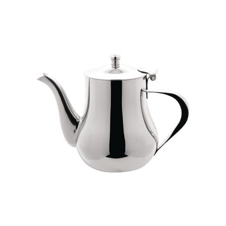 Olympia Arabian Tea Pot Stainless Steel 13oz