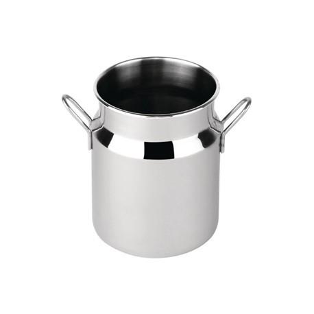Mini Milk Churn Stainless Steel Large