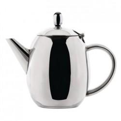 Olympia Richmond Teapot Stainless Steel 18oz