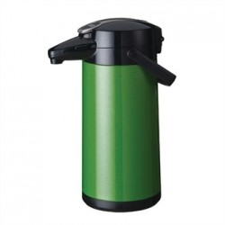 Bravilor Furento 2.2Ltr Airpot with Pump Action Metalic Green