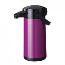 Bravilor Furento 2.2Ltr Airpot with Pump Action Metalic Purple