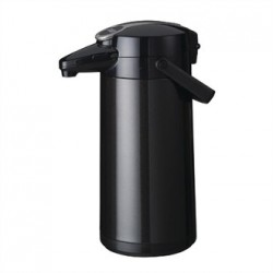 Bravilor Furento 2.2Ltr Airpot with Pump Action Metalic Black