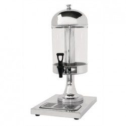 Olympia Single Juice Dispenser with Drip Tray
