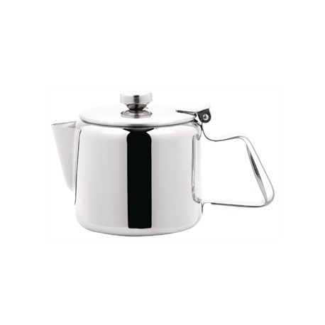 Olympia Concorde Tea Pot Stainless Steel 20oz