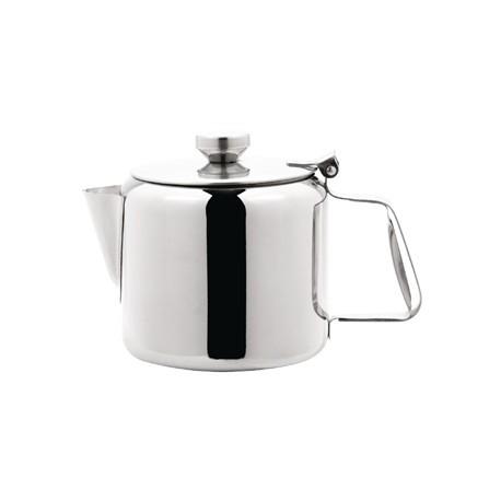 Olympia Concorde Tea Pot Stainless Steel 32oz