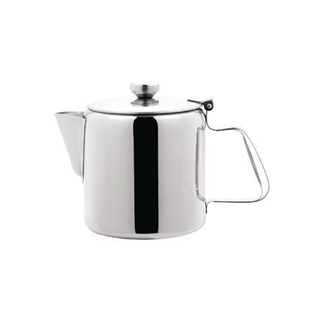 Olympia Concorde Tea Pot Stainless Steel 48oz